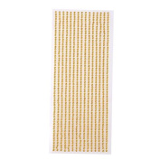 3mm self adhesive pearl gem strips - ideal for card making and decorations