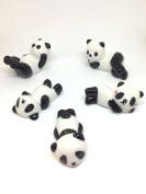 Cute Ceramic Panda Brush Rest/ Chopsticks Rest