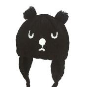 Morwind Baby Toddler Kid Elasticity Bears Pattern Beanie Handcraft Knitted Warm Hat Cap