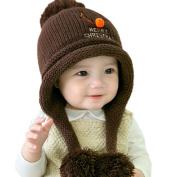 Children Warm Hats ,Morwind Christmas Cotton Ball Hat Warm Children Hats Beanie For Boys Girls