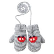 Eastlion Children's Hook Flowers Mittens Warm Cartoon Knitting Baby Gloves