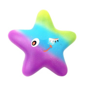 Brydon 13cm Exquisite Fun Galaxy Star fish Scented Squishy Charm Slow Rising Kids Toys