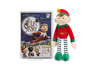 An Elf's Story DVD with 25cm Dangle Elf Soft Toy