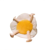 lulalula 60cm Huge Egg Cushion Pillow Plush Toy Christmas Plush Toys for Children and Girl Friend