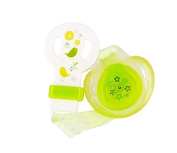 dBb Remond Soother and Clip Pack, Green, 1-Count