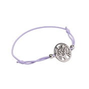 La Modeuse – Bracelet in Elastic Cord End and Discreet