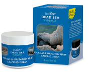 Calming Psoriasis Cream – Dead Sea Minerals treatment Cream for Eczema Rosacea Dermatitis – Special Blend of Minerals Herbs & Vitamins – için anında açılma Relief to Itchy Rashed & Irritated Skin