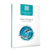 Opti-Omega 3 600mg Healthspan | 120 Capsules | Designed to support the brain, eyes and heart*
