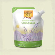Andean Sol Organic White Chia Seeds 350g