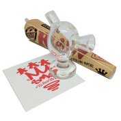 SMO-KING Buddie Burner bubbler cigarette cone holder - Gift Set. Includes RAW King Size Cones and SMO Slap