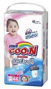 Japanese nappies panties Goo.n (Goon) PBL girls (12-20 kg)44psc//Японские подгузники-трусики Goo.n (Goon) PBL девочки (12-20 кг) 44pc