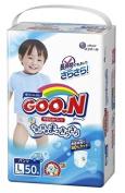 Japanese nappy panties Goo.n (Goon) PL Boys (9-14 kg) 50 psc//Японские подгузники-трусики Goo.n (Goon) PL мальчики (9-14 кг)50 pc