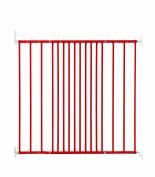 BabyDan Multidan Extending Metal Safety Gate, Limited Edition Red