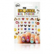Get Emojinal Nail Art Stickers