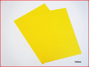 Yellow Matte Sticky Back Self Adhesive A4 Sheet Craft DC FIX Vinyl Sticker 0895