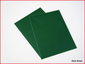 Dark Green Matte Sticky Back Self Adhesive A4 Sheet Craft DC FIX Vinyl Sticker 0109