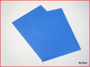 Sky Blue Matte Sticky Back Self Adhesive A4 Sheet Craft DC FIX Vinyl Sticker 0107
