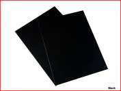 Black Matte Sticky Back Self Adhesive A4 Sheet Craft DC FIX Vinyl Sticker 0111