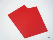 Red Matte Sticky Back Self Adhesive A4 Sheet Craft DC FIX Vinyl Sticker 0108