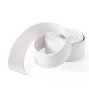 AsentechUK® 3.2m Kitchen Bathroom Waterproof Mould Proof Wall Sealing Tape Adhesive Tape Corner Seam Strip