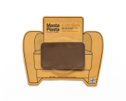 New Colour! Mid-Brown MastaPlasta Self-Adhesive Leather Repair Patches. Choose size/design. First-aid for sofas, car seats, handbags, jackets etc.