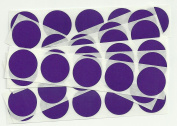 Purple 2.5cm Round Scratch Off Stickers, Pack of 50