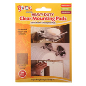 Heavy Duty Clear Mounting Pads