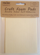 Craft Foam Pads Double Sided Self Adhesive - 144 Sheet