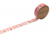 Lau & Home© Washi / Adhesive Decoration Tape 10 Metre long for Scrapbooking & Craft - Pattern 2