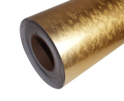 Gold & Silver Leaf Brushed Effect Aluminium Self Adhesive Sticky Back Vinyl 1 metre by 610mm