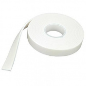 12mm JeJe 2mm Thick Foam Tape 2m White - per pack