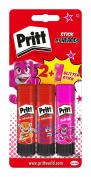 Pritt PBS2D Glue Sticks Plus One Coloured Glue Stick, 20 g