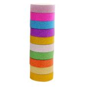 Clode® 8x Washi Sticky Paper Masking Adhesive Decorative Tape Scrapbooking