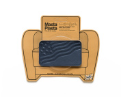 Navy Blue MastaPlasta Self-Adhesive Leather Repair Patches. Choose size/design. First-aid for sofas, car seats, handbags, jackets etc.