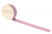 Lau & Home© Glitter Washi Decoration Paper Tape Gift Wrap & Self Adhesive Craft DIY - Pattern 1