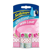 Sellotape On Hand Refills- With Love