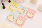 Affe 4pcs Cute Planner Stickers Sticky Notes Scrapbooking Post It Memo Pad Sticky Markers
