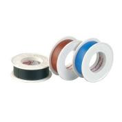 Coro Plast PVC Insulation Tape – 3 Pack – 0.15 x 15 mm, Brown/Black/Blue Black