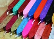 AmgateEu 10 PCS Multi-Colour Envelope Seal Wax Seal Stamp Sealing Wax Sticks with Wick , Random Colour