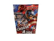 Captain America Sticker Pad