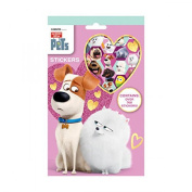 Secret Life Of Pets 700 Stickers