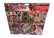 Captain America Mega Sticker Set