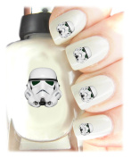 Easy to use, High Quality Nail Art Decal Stickers For Every Occasion! Ideal Christmas Present / Gift - Great Stocking Filler Star Wars Storm Trooper