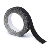 Relaxdays Anti-Slip Tape 5 m Grip Tape Anti Slip for Non-Slip Steps Traction For Indoor And Outdoor Use, 25 mm, Black