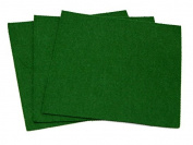 Sticky Back Self Adhesive Acrylic Felt Fabric 46cm Square Olive Green - per sheet