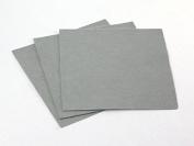 Sticky Back Self Adhesive Acrylic Felt Fabric 46cm Square Grey - per sheet