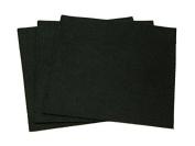 Sticky Back Self Adhesive Acrylic Felt Fabric 46cm Square Black - per sheet