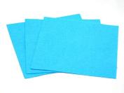 Sticky Back Self Adhesive Acrylic Felt Fabric 46cm Square Kingfisher - per sheet