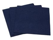 Sticky Back Self Adhesive Acrylic Felt Fabric 46cm Square Navy Blue - per sheet