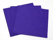 Sticky Back Self Adhesive Acrylic Felt Fabric 46cm Square Purple - per sheet